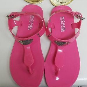 Michael Kors jelly sandals